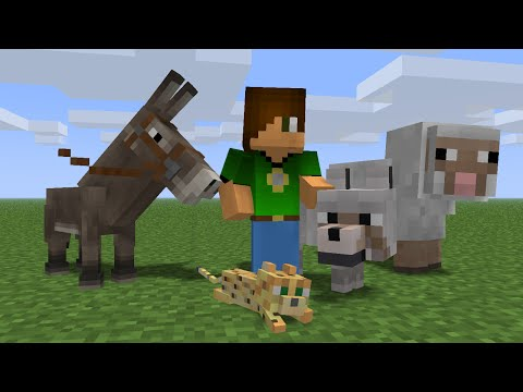 minecraft animation meet the new students