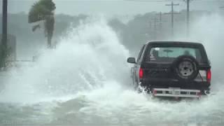 Hurricane Dorian Dangerous Storm Surge in Surfside Beach, SC - 9/5/2019