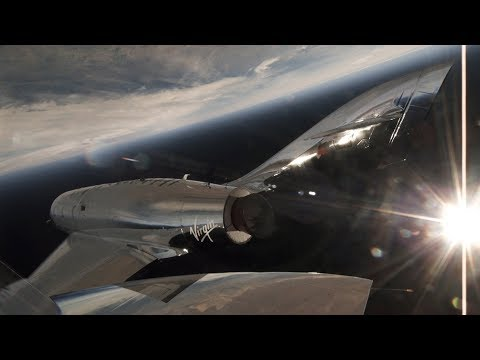 Watch footage of Virgin Galactic's first successful test flight