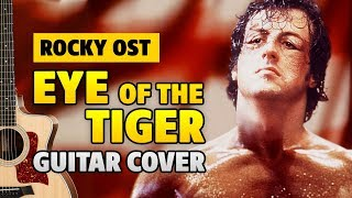 "Survivor - Eye of the Tiger [OST ""Rocky""] (Acoustic Guitar Cover)"