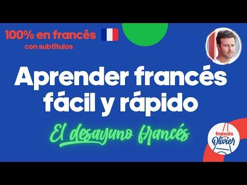 Aprender francés desde la cultura - Método 100% en francés: desayuno francés