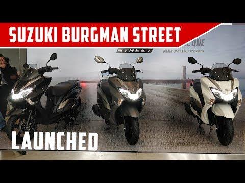 Suzuki Burgman Street- Quick Walkaround