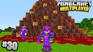 INFINITE ANCIENT DEBRIS in Minecraft Multiplayer Survival! (Episode 30)
