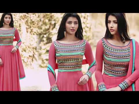 Gown Dress Indo Western Styles: Party Wear Long Designer Gowns Beautiful Latest Designs Online Sale