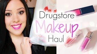 Andréa Matillano – BIG DRUGSTORE MAKEUP HAUL! | Summer 2014