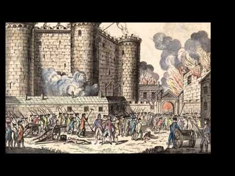 14th July 1789: Storming of the Bastille