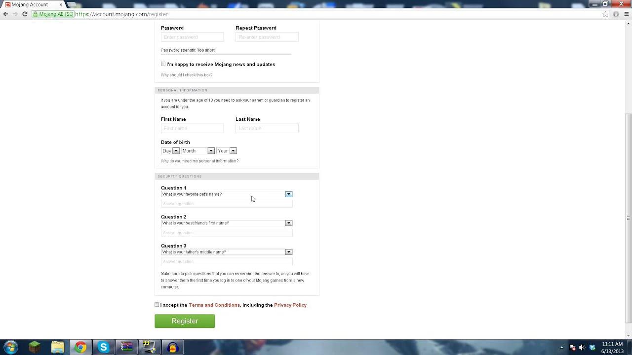 What we found out: Account Mojang Com Redeem Prepaid Card