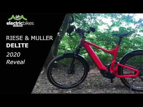 Riese & Muller Delite Electric Bike Range: 2020 Reveal