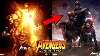 Avengers 4 Captain Marvel Is More Powerful Than Thanos & Will DEFEAT Thanos With Thor!