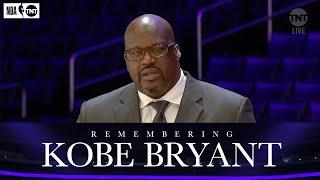 Shaq Remembers His Former Teammate and Friend Kobe Bryant   NBA on TNT