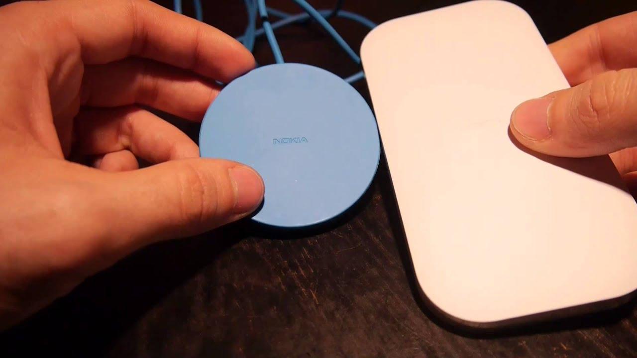 nokia dt 601 wireless charging platte im hands on deutsch youtube. Black Bedroom Furniture Sets. Home Design Ideas