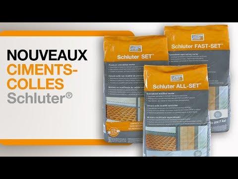 La nouvelle gamme de ciments-colles Schluter®!
