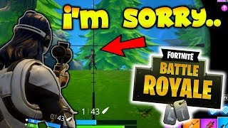 THEY DIDN'T STAND A CHANCE!! (Fortnite Battle Royale)