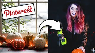 I Tested The Most Viral Pinterest Halloween Decorations