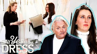 """""""Here We Are Again!"""" Pregnant Bride In a Panic To Find New Dream Dress 