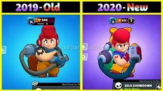 old VS new !!! Changes Of Brawl Stars