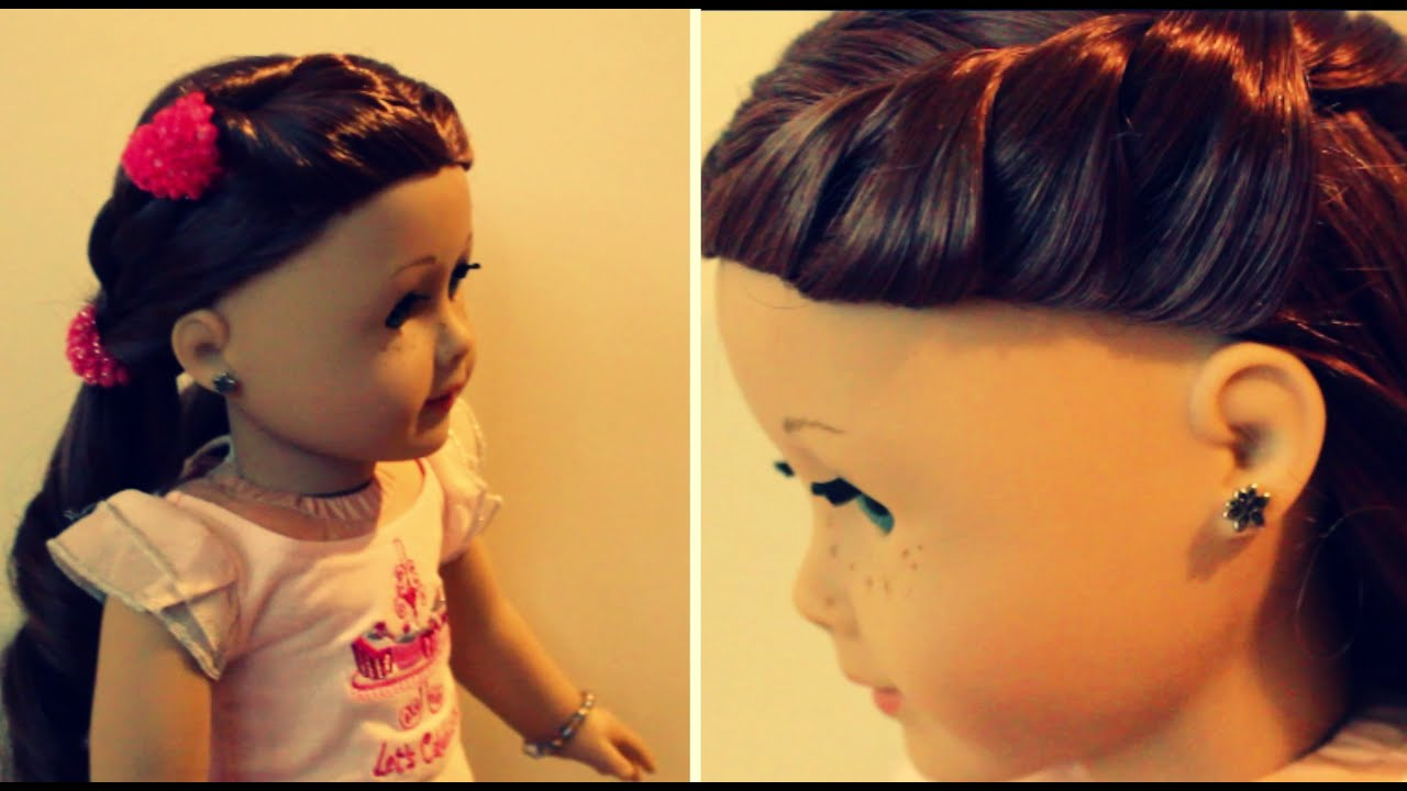 Two Easy Hairstyles For Saige!