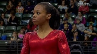 Gabrielle Douglas dominates Uneven Bars - from Universal Sports