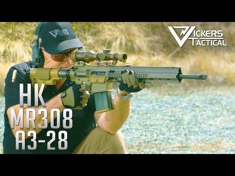 """HK MR308 A3-28 20"""" with Sig Tango6T Optic"""