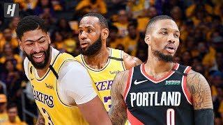 Portland Trail Blazers vs Los Angeles Lakers - Full Highlights   January 31   2019-20 NBA Season