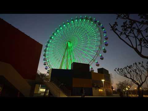 【4K】台中港旅客服務中心 & 三井 Outlet Park 台中港