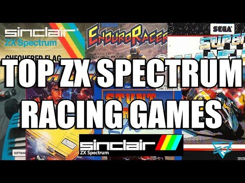TOP ZX SPECTRUM RACING GAMES