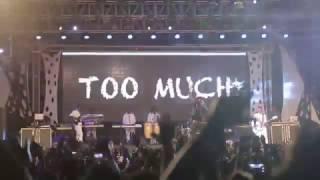 Darassa Performing Too Much Live At Fiesta 2016 Dar Es Salaam
