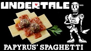How to Make PAPYRUS' SPAGHETTI from Undertale! Feast of Fiction S5 Ep16
