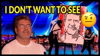 """Top 10 """"WORST AUDITIONS & Acts Go WRONG"""" on Britain's Got Talent 2017 - 2018"""