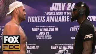Fury vs. Wilder III: Best of their kickoff press conference before July 24 trilogy | PBC ON FOX