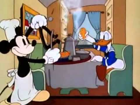 Mickey Mouse Cartoon The Moving Day 1936 Co Starring