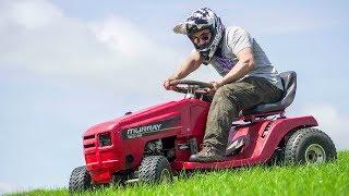 I Built the World's Worst Racing Lawnmower