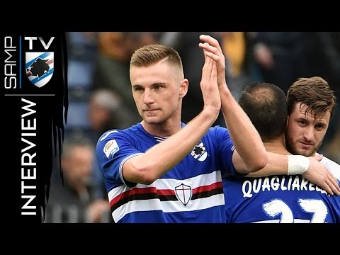 Sampdoria-Juventus, Skriniar: «È mancato solo il gol»