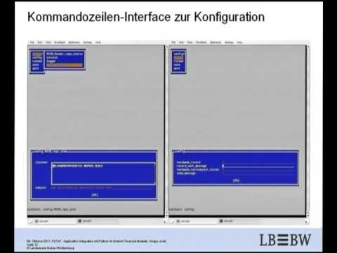 Image from PyTAF - Application Integration mit Python im Bereich Financial Markets