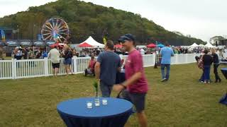 Kid Rock's 3rd fish fry VIP area