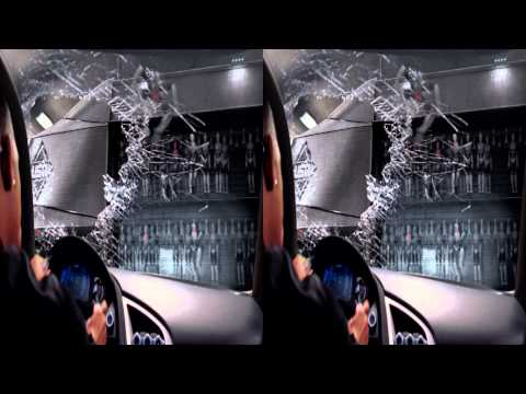 I Robot 3D - Car Chasing Scene