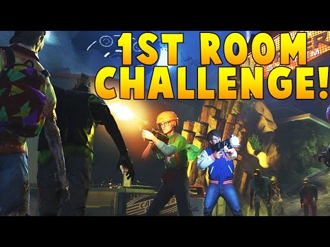 Call of Duty Zombies on Spaceland *1ST ROOM CHALLENGE*