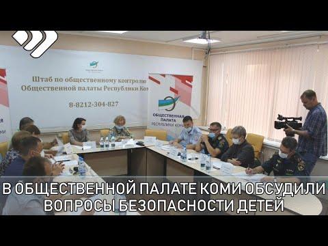 В Общественной палате Коми обсудили вопросы безопасности детей