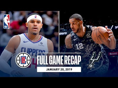 Full Game Recap: Clippers vs Spurs | Tobias Harris Does It All For LAC