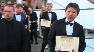 Cannes: Winners leave closing ceremony