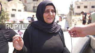 Lebanon: Families of missing people gather at Beirut port to demand answers