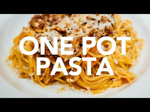 Fast One Pot Pasta - Instant Pot
