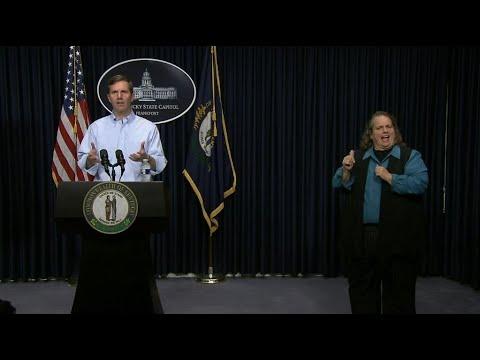 Gov. Andy Beshear March 18 5:00 p.m. Update | Coronavirus | KET