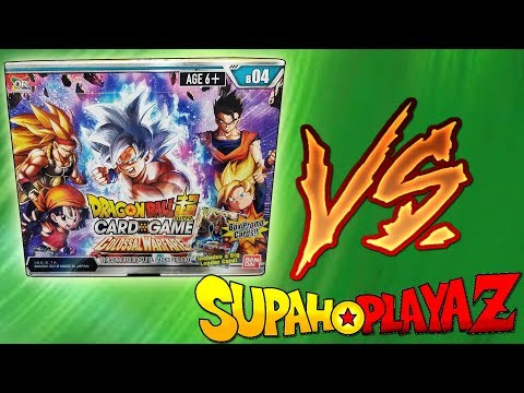 Colossal Warfare Dragon Ball Super Booster Box Battle vs SupahPlayaz!