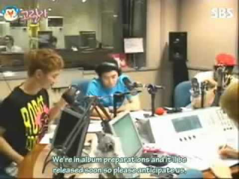 100511 Heechul's Youngstreet - 2PM's Junho tricks SHINee's Minho (eng subbed)