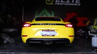 Porsche 718 Cayman vs 981 Cayman Armytrix Exhaust Sound Battle!