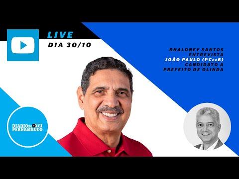 Rhaldney Santos entrevista João Paulo (PCdoB)
