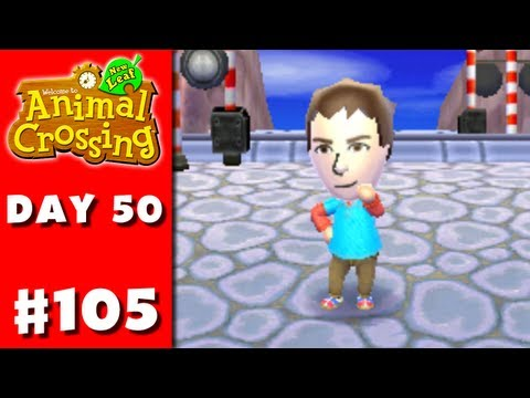 Animal Crossing: New Leaf - Part 105 - Mii (Nintendo 3DS Gameplay Walkthrough Day 50) - Smashpipe Games