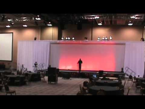 WW2012 Main Stage Setup - July 2012 - Las Vegas