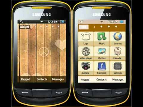 theme samsung gt-s3850 mobile9